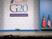 G-20 TOPLANTISI - G20'de ilginç anlar