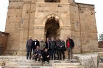 MUSA ANTER - Gazeteciler Akdamar Adası'nı Gezdi