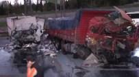 TEM OTOYOLU - TEM'de Zincirleme Kaza Açıklaması 6 Yaralı