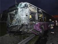 TEM OTOYOLU - TEM Otoyolu'nda zincirleme trafik kazası