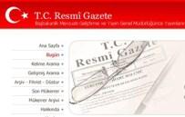 TUNCAY TOPSAKALOĞLU - Başbakanlık Ve İçişleri Bakanlığına Atamalar