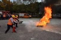 MEHMET FİLİZ - Kartepe Belediyesi'nde Yangın Tatbikatı