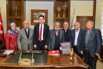 ŞEHİT AİLELERİ - Şehit Ve Gazi Ailelerinden Başkan Eroğlu'na Teşekkür Ziyareti