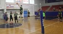 İKINCI LIG - Düzce Belediyespor Voleybol Takımı Deplasmanda