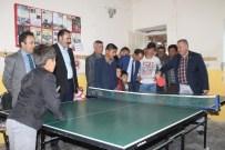 Karaman Ghsim'den Pınarkaya Köyüne Masa Tenisi