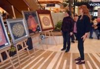 EBRU SANATı - Ebru Sergisi Sanatseverlere Açıldı