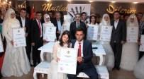 MAHMUT ÇELIKCAN - Evlenen 20 Çift 'Kadına Şiddete Hayır' Sözleşmesi İmzaladı