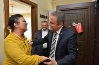 GAZYAĞı - Başkan Böcek'ten 40 Yıl Sonra Sevindiren Ziyaret