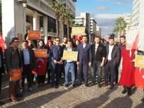 DEVE KUŞU - Konak AK Gençlikten Türkmenlere Destek