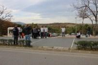 KURUPELIT - Otomobilin Çarptığı Azeri Öğrenci Yaralandı