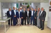 ALI GÖKÇE - Elmalı Belediye Meclis Üyeleri DSİ'yi Ziyaret Etti