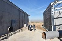 Kozaklı'da Jeotermal Merkezi Dağıtım Havuzunda Çalışmalar Devam Ediyor