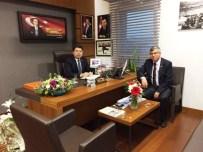 Başkan Sayın, Milletvekili Tunç'u TBMM'de Ziyaret Etti