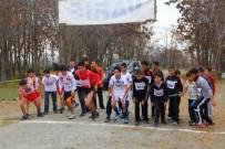 KAVAKYOLU - Okul Sporları Kros Müsabakaları Yapıldı
