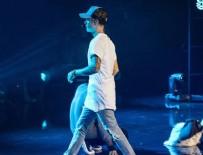 JUSTİN BİEBER - Justin Bieber'dan şok hareket