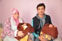 İKİZ ÇOCUK - Suriyeli Genç Çiftin Erdoğan Sevgisi, İkiz Bebeklerine İsim Oldu