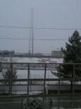 Çankırı Merkezde Yağmur Bazı İlçelerde İse Kar Etkili Oldu