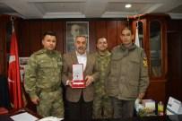 Jandarma Komutanından Başkan Yılmaz'a Teşekkür Plaketi