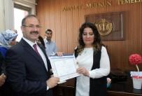 AHMET YAPTıRMıŞ - AK Parti Erzurum Milletvekilleri Mazbatalarını Aldı