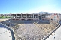 Beşikkaya'daki Okul İnşaatı Hızla İlerliyor