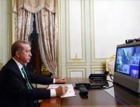 G-20 TOPLANTISI - Cumhurbaşkanı Erdoğan telekonferansa katıldı