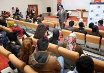 CIHAN YıLMAZ - ARÜ'lü Öğrencilere KPSS Hakkında Bilgilendirme Semineri Verildi