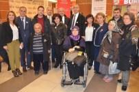 BILGE AKTAŞ - Engellilerin El Emeği Göz Nuru Eserleri Görücüye Çıktı