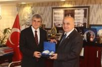 KATI ATIK TESİSLERİ - KTÜ Rektörü Baykal'dan DOKAP Başkanı Yüce'ye Ziyaret