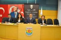 AHMET TOPRAK - Tarsus Belediye Meclisi 2015 Yılının Son Toplantısını Yaptı