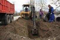 SU TAŞKINI - Akyazı'da Alt Yapı Çalışmaları Kabakulak Mahallesinde Sürüyor