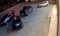 ALIYA İZZET BEGOVIÇ - Buji İle Cam Patlatan Hırsızlar Kamerada