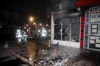 CENGİZ KAYA - Çıkan Yangında Bakkal Dükkanı Küle Döndü