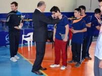 FARUK ÖZDEMIR - Okullar Arası Masa Tenisi Turnuvası Yapıldı