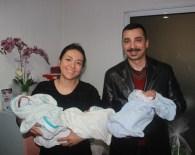 ÜÇÜZ BEBEK - Aşılama Yöntemiyle Üçüz Bebek Sahibi Oldular