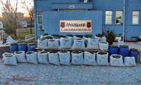 Diyarbakır'da Bin 200 Kilo Esrar Ele Geçirildi