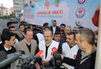 Bayırbucak Türkmenleri İçin Toplanan Yardım Malzemeleri Dualarla Yola Çıktı