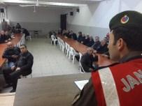 Jandarma Muhtarlarla Güvenlik Toplantısı Yaptı