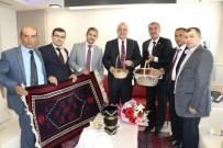 YAVAŞLAR - Demircili Muhtarlardan Başkan Ergün'e Teşekkür Ziyareti
