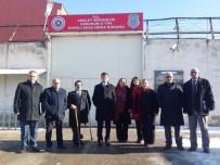 DENİZ KURT - Erzurum E Tipi Kapalı Ceza İnfaz Kurumuna Ziyaret
