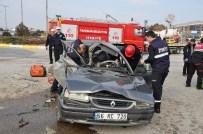 Kırıkkale'de Trafik Kazası Açıklaması 1 Ölü, 1'İ Ağır 2 Yaralı