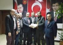 İSKILIPLI ATıF HOCA - Atıf-Der'den AK Parti'ye Ziyaret