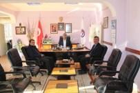 Daire Başkanı Emin Türk'ten Başkan Çalışkan'a Ziyaret