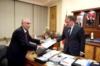 AYAKKABICI - Eskkk Başkanı Ali Evren, Başkan Çakır'ı Ziyaret Etti