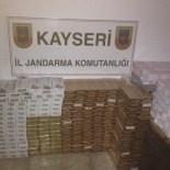 AKMESCIT - Jandarmadan Kaçak Sigara Operasyonu