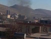 PKK'lılar tüp deposunu soydu