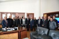ERDAL YAĞLICI - Kayısı Kent Muhtarlar Derneği'nden, Başkan Çakır'a Ziyaret