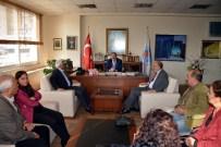 MEHMET SOYDAN - Vartolulardan Eş Başkanlara Ziyareti