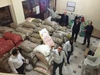 AFYONLU - Alperenlerden Türkmenlere 10 Ton Patates