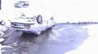 BAHÇEKÖY - Koyulhisar'da Kar Yağışı Etkili Oldu