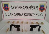 YOLKONAK - Sandıklı'da Ruhsatsız Silah Ve Mermi Ele Geçirildi